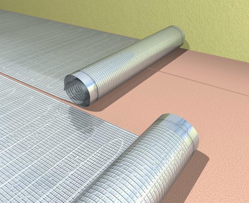 Apsildāmās grīdas ECOFLOOR - Paklāji ALMAT - siltās grīdas