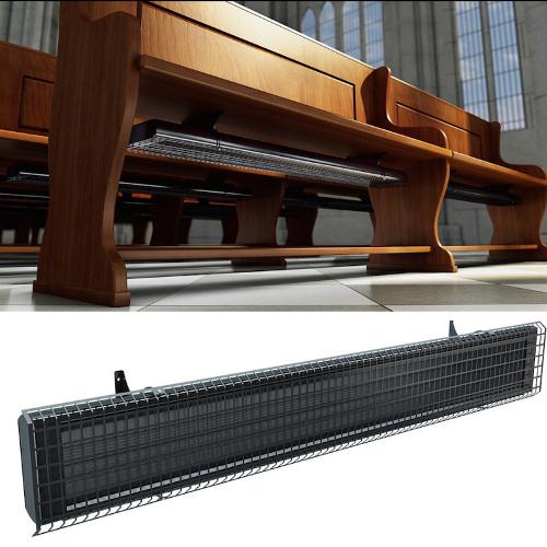 Siltumizstarojošie paneļi ECOSUN - Siltumizstarojošie paneļi baznīcām zem soliem - siltās grīdas