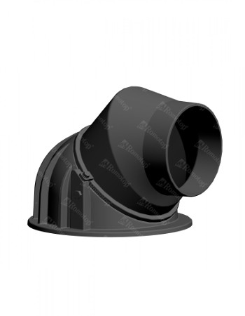 Kamīna dūmvada izeja 180mm