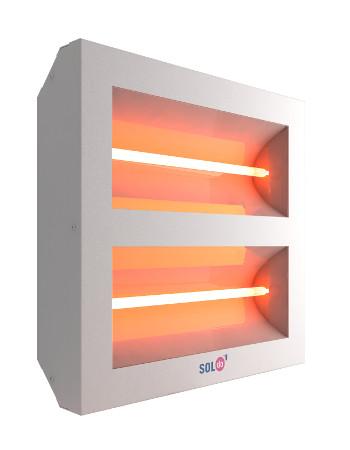 Infrasarkanie sildītāji SOLTECHA - SolDo Halogen 4kW - siltās grīdas
